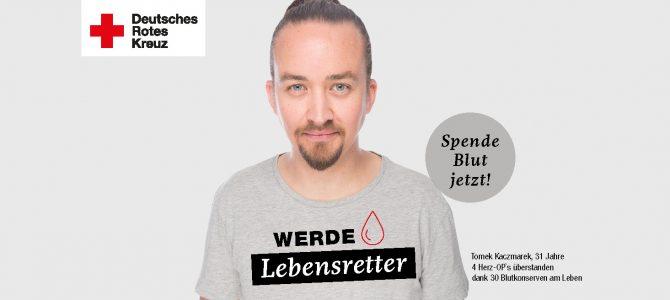 DRK Griesheim feiert 60 Jahre Blutspende