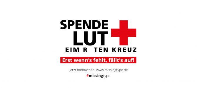 Spende  lut  eim R ten Kreuz!
